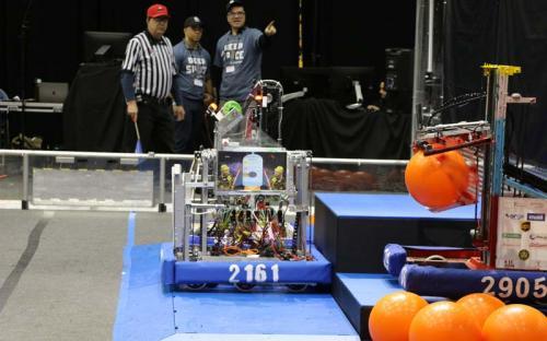 2019 SBPLI Long Island Regional FIRST Robotics Competition #1 Day 1