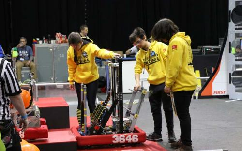 2019 SBPLI Long Island Regional FIRST Robotics Competition #1 Day 1