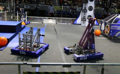 2019 SBPLI Long Island Regional FIRST Robotics Competition #2 Day 1
